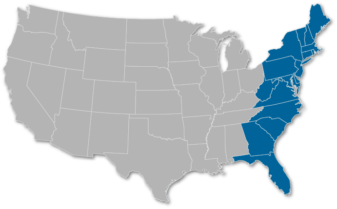 U.E. East Coast Region